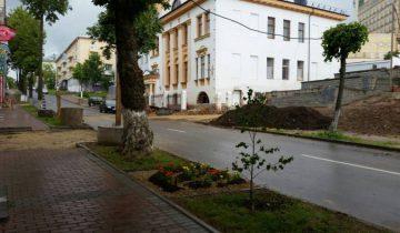 Один из главных объектов благоустройства города в 2016 году. Фото: Аля Покровская