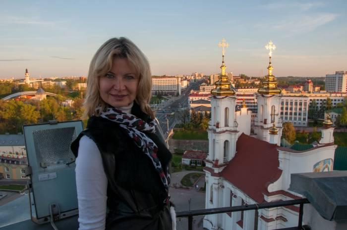 На фоне любимого города. Фото Анастасии Вереск