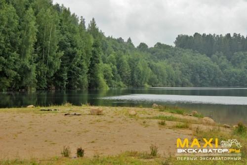 Отработанный карьер. Фото maxi-exkavator.ru