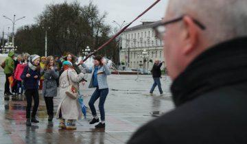 Танцы под дождем. Фото Анастасии Вереск