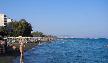 Пляж на Кипре. Фото Ольга Витебская
