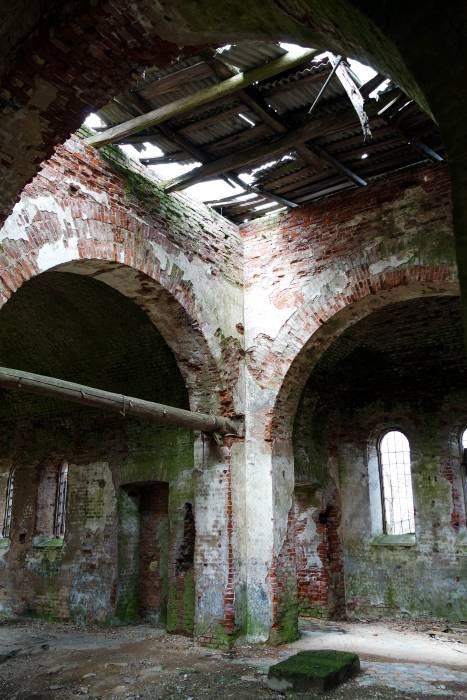 Внутри церкви. Фото Анастасии Вереск