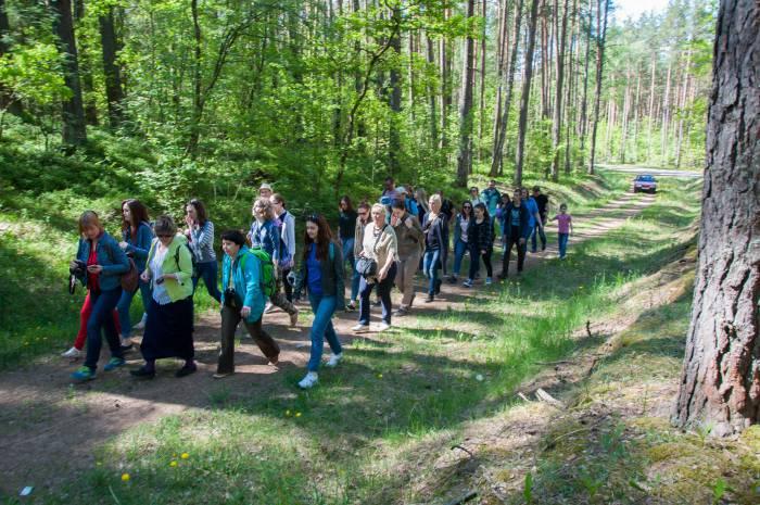 Через лес к Великим Летцам. Фото Анастасии Вереск