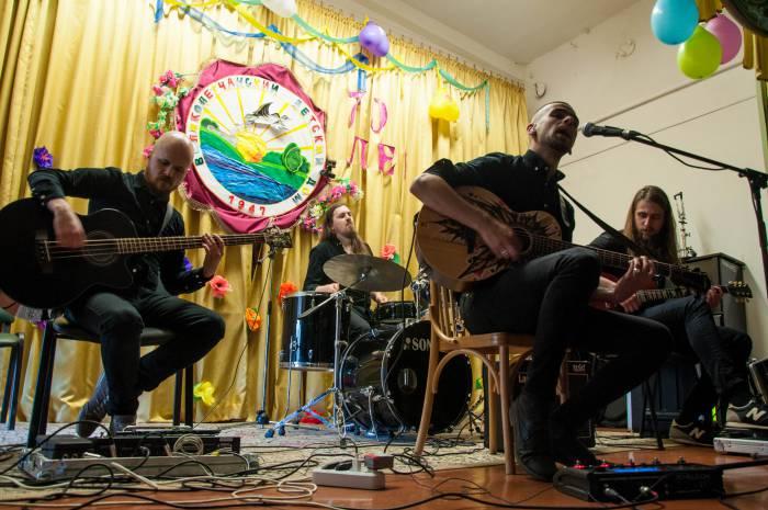 Выступление группы «Re1ikt». Фото Анастасии Вереск