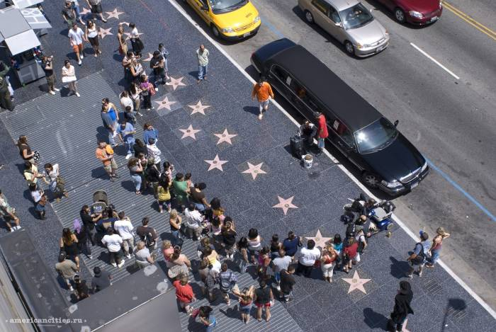 Голливудский бульвар. Фото americancities.ru