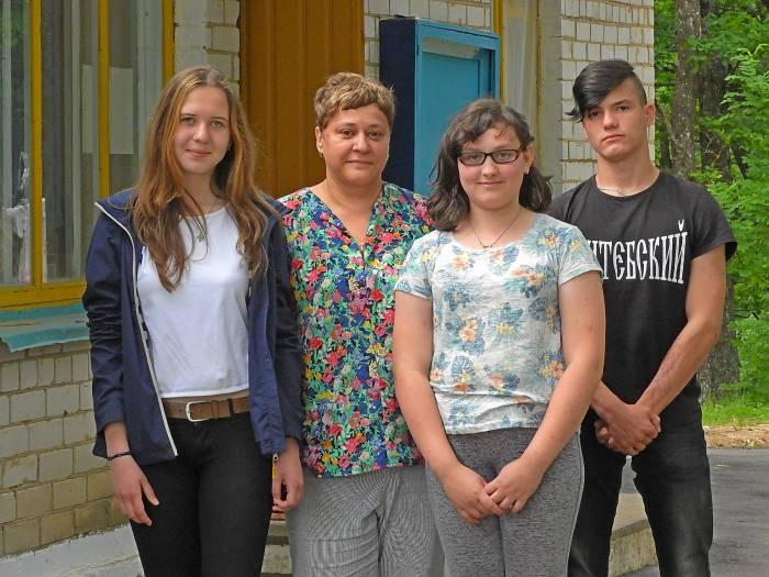Ефросинья, Инна Иванова, Мария и Ярослав. Фото Светланы Васильевой