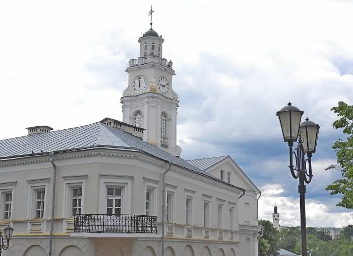 часы ратуша