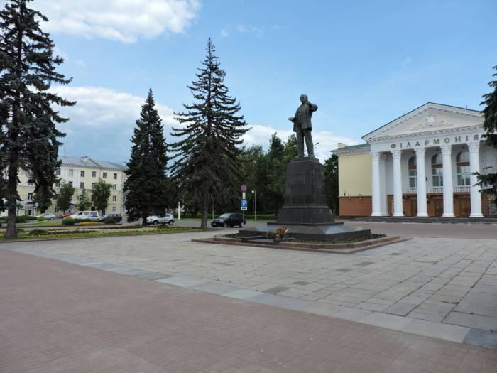 віцебск, плошча, Леніна