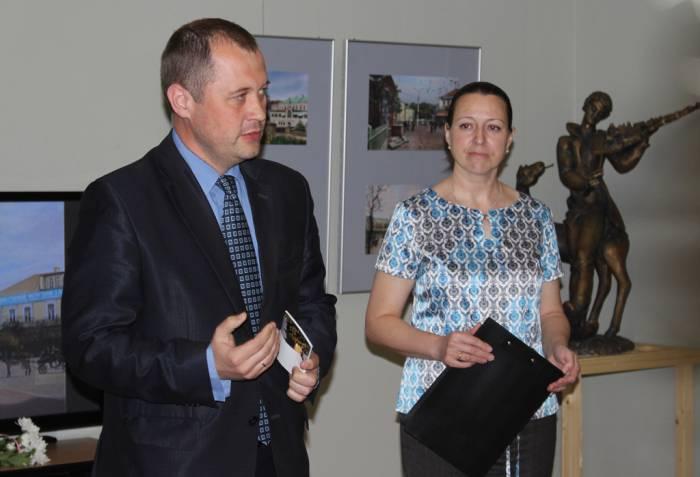 выставка, Борисенков, фотопроекции, Шагал