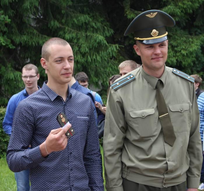 витебск, военная кафедра, вгу, погоны