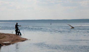 лето рыбак