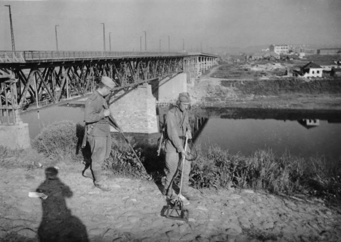витебск, освобожденный, 26 июня 1944 года, фото