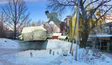 выставка, фотопроекции, Борисенков, Шагал