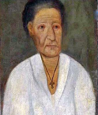 Предполагаемый портрет Ксении Петербургской. Фото ru.wikipedia.org