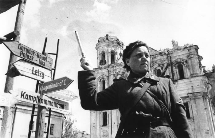 витебск, освобожденный, фото, 26 июня, 1944 года