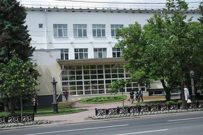 Областная библиотека. Фото Владимира Боркова