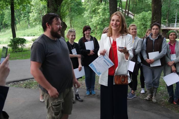 Победительница. Фото Владимир Борков