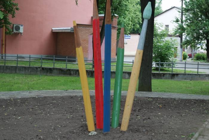 Вот такие карандашики. Фото Ольга Витебская
