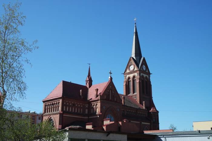 Римско-католический кафедральный собор Святой Анны, одно из зданий, восстановленных после войны. Фото Анастасии Вереск