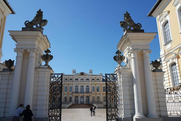 Рундальский дворец. Фото Анастасии Вереск