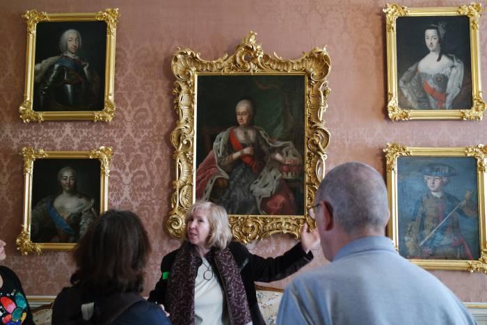 Портрет Бенинге Готлиб Бирон, герцогини Курляндской. Фото Анастасии Вереск