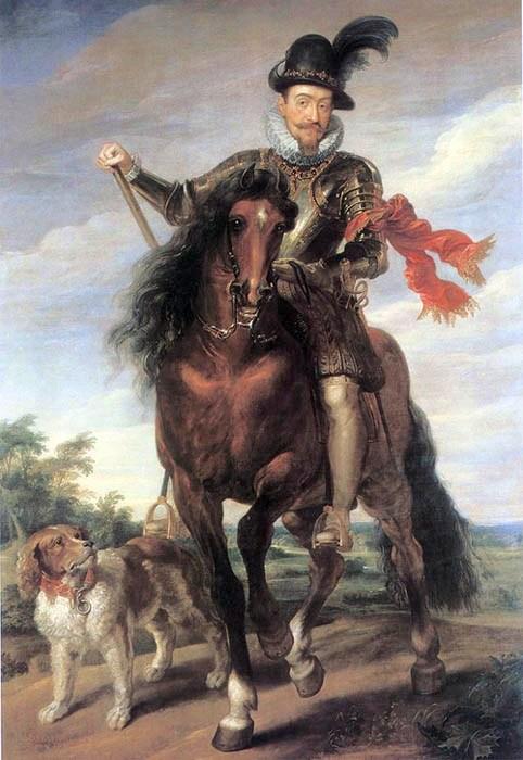 Конный портрет Сигизмунда III. Около 1624 года. Источник: ru.wikipedia.org