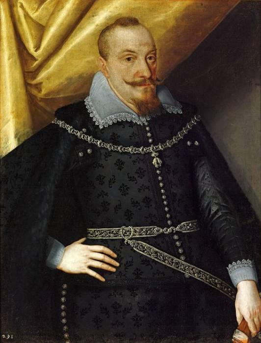 Якоб Трошель. Портрет Сигизмунда III Вазы, 1610-е годы. Источник: ru.wikipedia.org