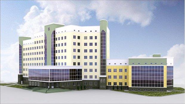 Так будет выглядеть поликлиника на Юг-7А. Фото tut.by
