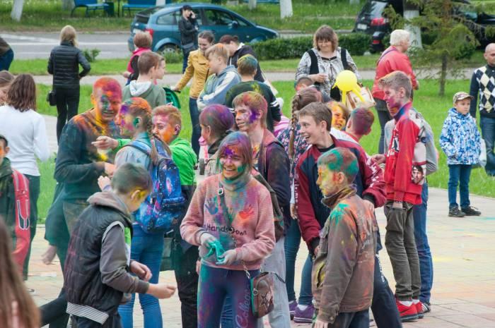 Яркий праздник для детей. Фото Анастасии Вереск