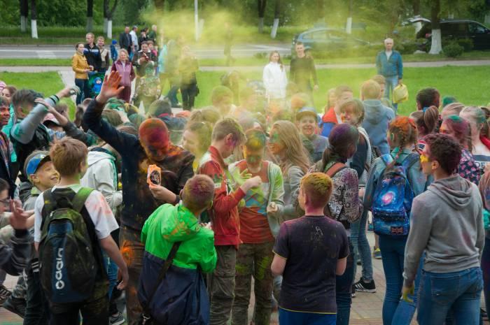 В пылу битвы. Фото Анастасии Вереск
