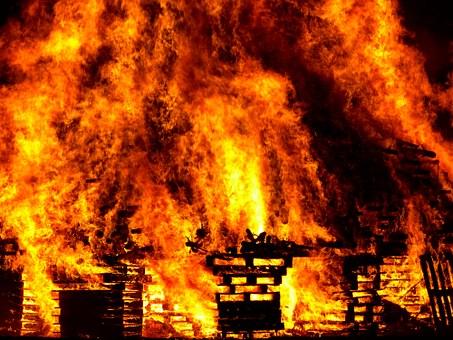 На Поставском мясокомбинате произошел крупный пожар