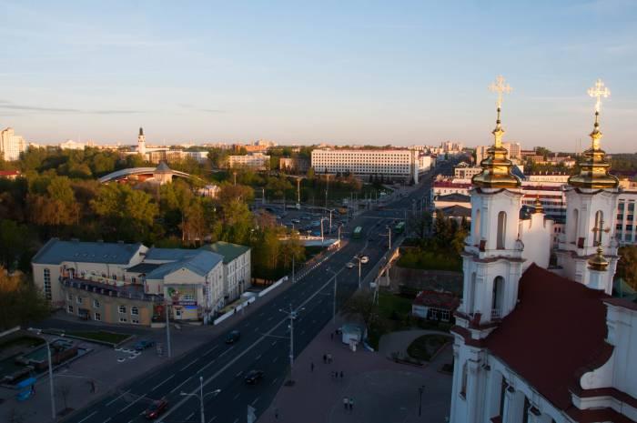 Витебск с высоты Ратуши. Фото Анастасия Вереск