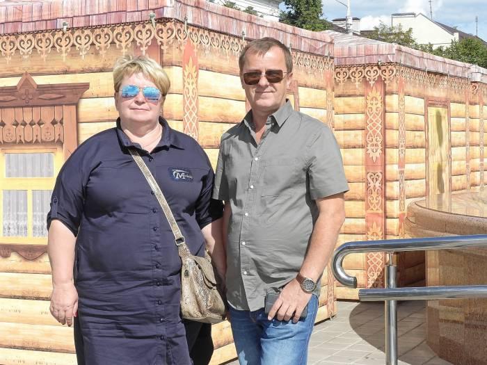Людмила Дубова и Виктор Чагаев. Фото Светланы Васильевой