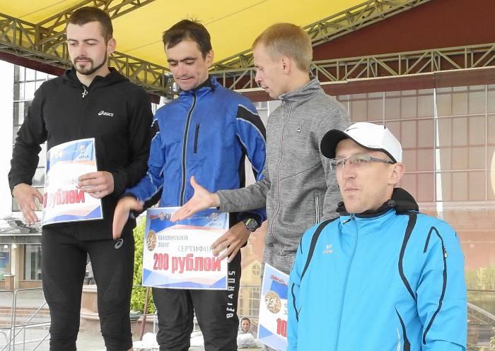 Победители 10-ти километровой дистанции. Фото Светланы Васильевой