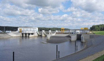 30 июля 2017 года. Витебская ГЭС. Фото Светланы Васильевой