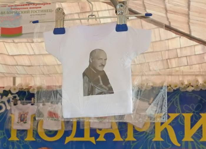 Сувенирные мини-футболки от московский производителей. Фото Светланы Васильевой