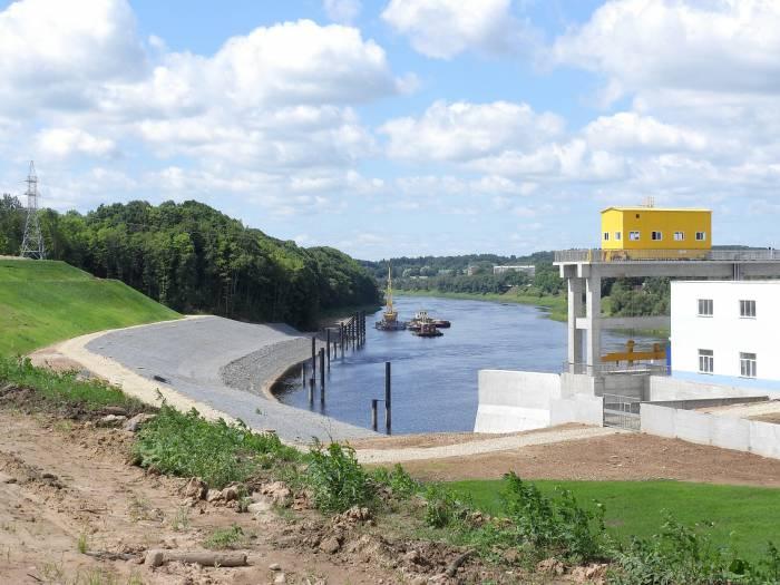 Участок ниже плотины ГЭС. Фото Светланы Васильевой