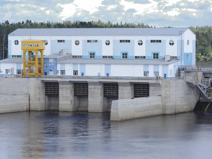 Турбинный зал Витебской ГЭС. Фото Светланы Васильевой