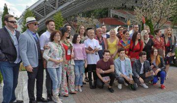 Участники и жюри XXIV Международного конкурса исполнителей эстрадной песни «Витебск-2017». Фото Светланы Васильевой