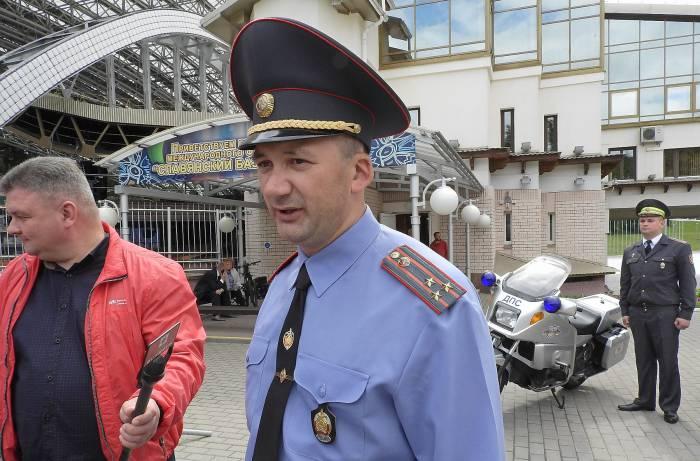 начальник УВД Витебского облисполкома полковник милиции Иван Кубраков. Фото Светланы Васильевой