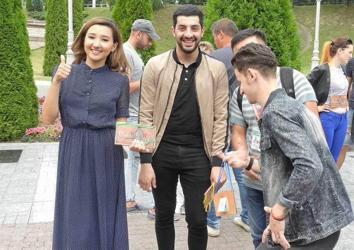 Айри (Казахстан) и Арман Месропян (Армения). Фото Светланы Васильевой