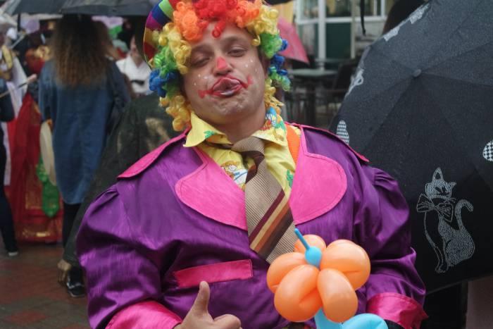 Веселый клоун. Фото Анастасии Вереск