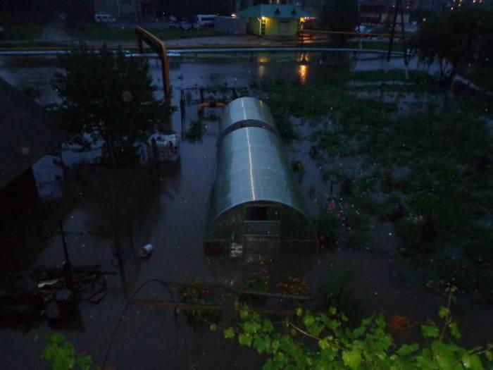 Чашники потоп
