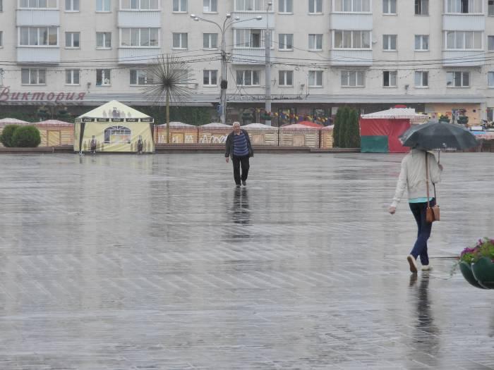 Площадь Победы в Витебске. Фото Светланы Васильевой