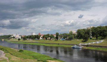 витебск, Двина, вид