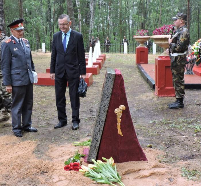 лепель, перезахоронение, война, десантники, Иваново