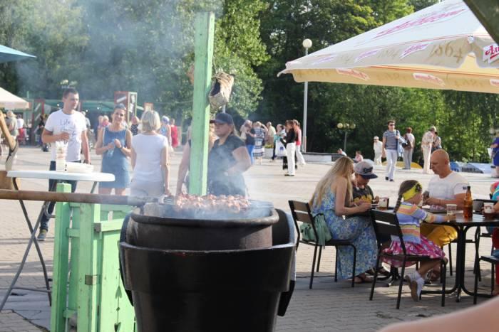 литовцы, Славянка, фестиваль, Казюкас