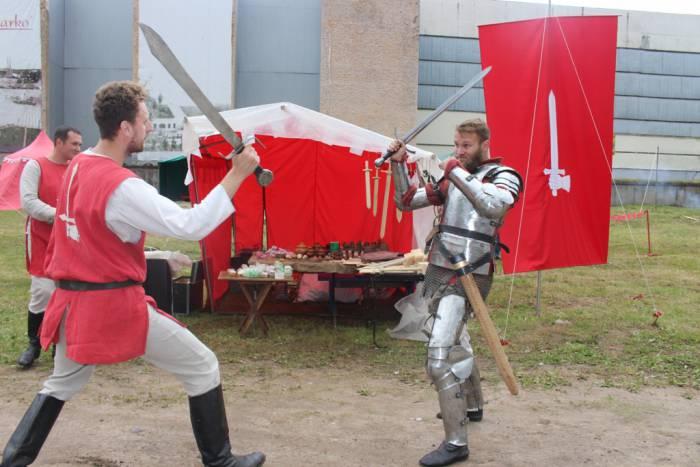 фестиваль, реконструкторы, Барысфен, средневековье