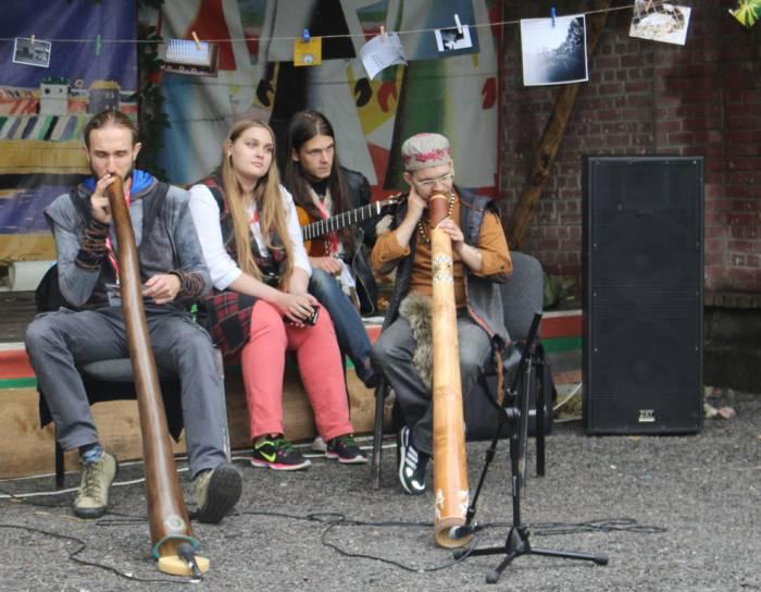 славянский базар, уличные музыканты, витебск