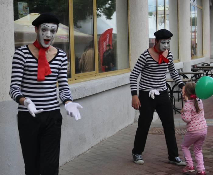 витебск, славянский базар, клоуны